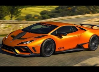 Lamborghini Huracan έτοιμη να «φάει» το δρόμο