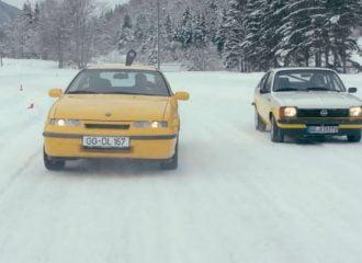 H Opel γιορτάζει τα 120 χρόνια της στα χιόνια! (+video)