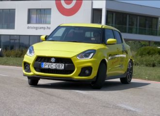 Το Suzuki Swift Sport «γυρνάει» σαν πισωκίνητο (+video)