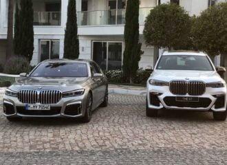 BMW Σειρά 7 και X7 συγκρίνουν τα «νεφρά» τους (+video)