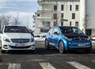 Συνεργασία BMW-Mercedes για νέες πλατφόρμες ηλεκτρικών;
