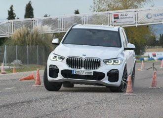 «Τραπέζι» η νέα BMW X5 στο τεστ αποφυγής ταράνδου (+video)