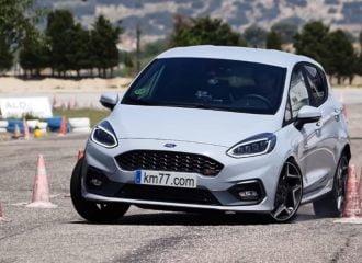 «Βολίδα» το Ford Fiesta ST στο τεστ αποφυγής ταράνδου (+video)