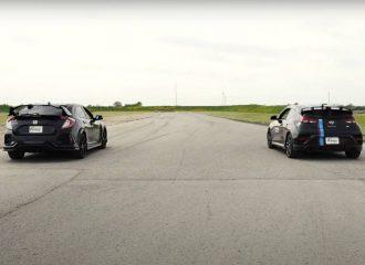 Το Hyundai Veloster N προκαλεί το Honda Civic Type R (+video)