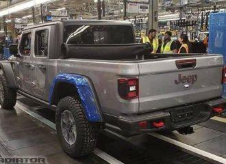 Ξεκίνησε η παραγωγή για το Jeep Gladiator (+video)