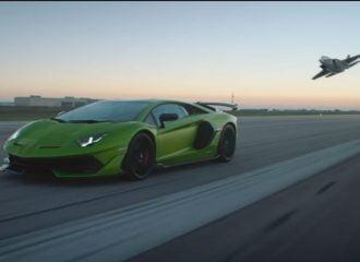 Tι κοινό έχει η Lamborghini Aventador SVJ με το F-35; (+video)