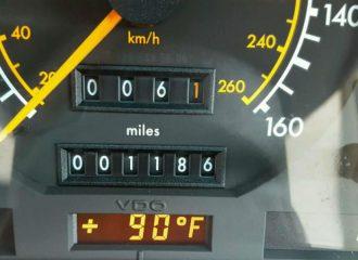 Κλεμμένη Mercedes του 1991 βρέθηκε με 1.900 χλμ!