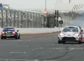 Συνάντηση Toyota Yaris WRC με Subaru Impreza WRC! (+video)