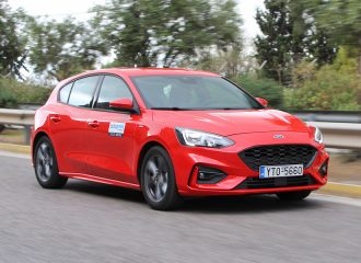 Δοκιμή Ford Focus 1.0 EcoBoost 125 PS ST-Line