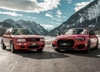 Όταν το Audi RS 4 συνάντησε το RS 2