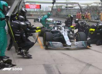 Τρομερό διπλό pit stop από την Mercedes! (+video)