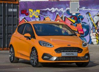 Πορτοκαλί Ford Fiesta ST Performance για λίγους