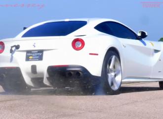 Βελτιωμένη Ferrari F12 «λικνίζεται» με 800 ίππους (+video)
