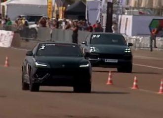 Η Lamborghini Urus ισοπεδώνει την Porsche Cayenne Turbo (+video)