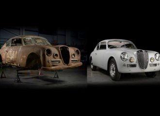 Πεθαμένη Lancia Aurelia του 1953 επανήλθε στη ζωή!