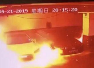 Tesla τινάχτηκε στον αέρα στην Κίνα! (+video)