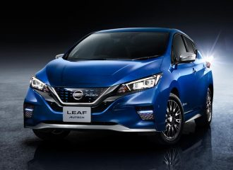 Πιο σπορτίφ και πολυτελές Nissan LEAF