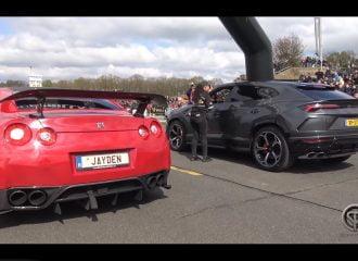 Nissan GT-R «ντροπιάζει» Lamborghini Urus (+video)