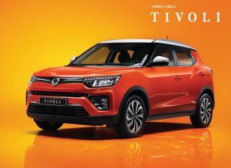 Νέο SsangYong Tivoli και με 1.5 λτ. turbo κινητήρα