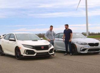 Ξεκαθάρισμα λογαριασμών μεταξύ Honda Civic Type R και ΒMW M2 (+video)