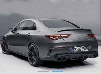 Διέρρευσε η Mercedes–AMG CLA 45!