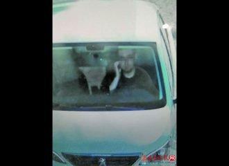 Οδηγός έξυσε το πρόσωπο του και έφαγε πρόστιμο!