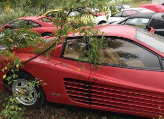 Νεκροταφείο με Ferrari προκαλεί βαθιά θλίψη