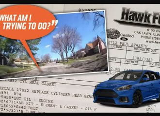 Υπάλληλος συνεργείου μαθαίνει να οδηγεί σε Focus RS πελάτη! (+video)