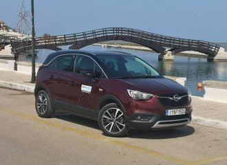 Στη Λευκάδα με το Opel Crossland X 1.2T 130 HP