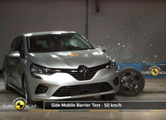 «Φρούριο» το νέο Renault Clio στα crash tests (+video)