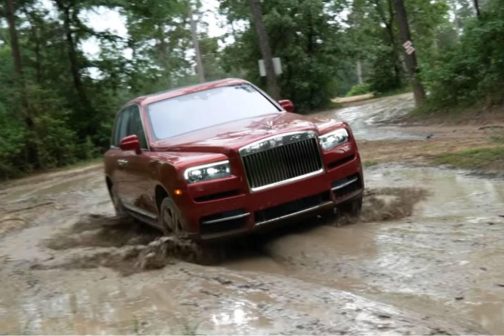Πώς τα πάει η Rolls-Royce με τις λάσπες; (+video)