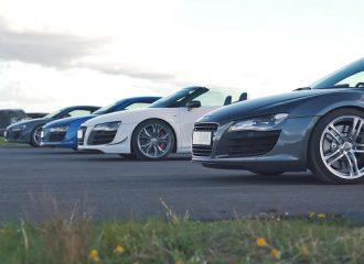 Η απόλυτη κόντρα των Audi R8 (+video)