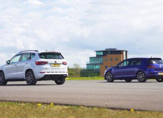CUPRA Ateca ΑΒΤ vs VW Golf R (+video)