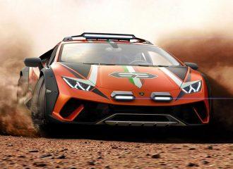 Έτοιμη για το WRC αυτή η Lamborghini Huracan