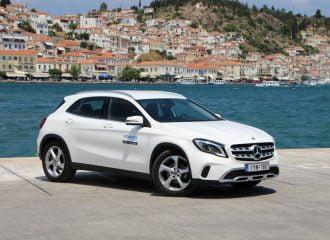 Με τη Mercedes GLA 200 7G-DCT στον Πόρο