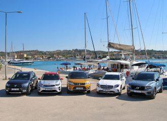 Οδοιπορικό με 5 δημοφιλή SUV/Crossover
