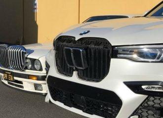 «Μεταμόσχευση νεφρών» μεταξύ BMW E30 και X7 (+video)