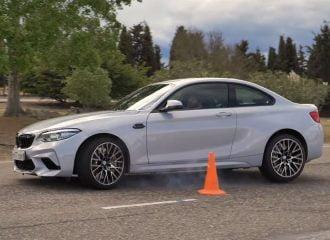 Μυστήρια η BMW M2 Competition στον «τάρανδο» (+video)