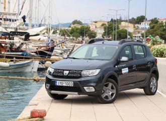 Με το Dacia Sandero Stepway 0.9 TCe στο Πόρτο Χέλι