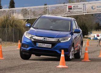 «Παιχνίδι» το Honda HR-V στο τεστ αποφυγής ταράνδου (+video)