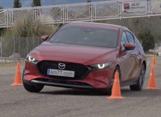 Πώς τα κατάφερε το νέο Mazda3 κόντρα στον τάρανδο; (+video)