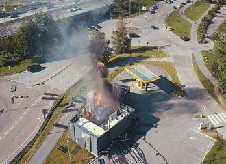 Έκρηξη σε πρατήριο υδρογόνου στη Νορβηγία (+video)