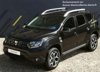 Νέο και συλλεκτικό Dacia Duster Black Collector Edition