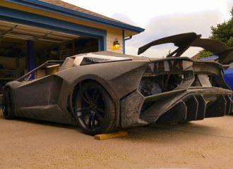 Lamborghini Aventador από 3D εκτυπωτή (+video)