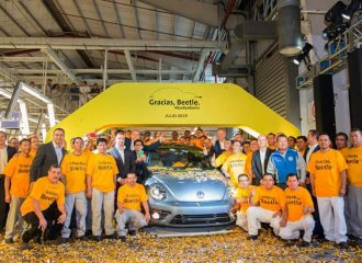 Αντίο για πάντα Volkswagen Beetle!