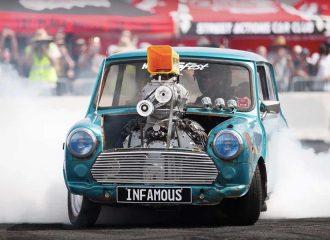 Driftομηχανή το Mini Cooper των 600 ίππων! (+video)