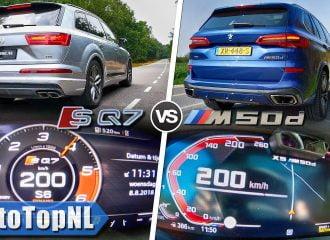 Audi SQ7 vs BMW X5 M50d: Τα δυο «βουνά» γκαζώνουν (+video)