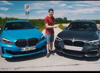 Η παλιά BMW Σειρά 1 «ρίχνει καρότσες» στην καινούργια (+video)