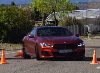 Ατίθαση η νέα BMW Σειρά 8 στον «τάρανδο» (+video)