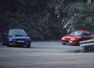 Subaru Impreza 22B vs Mitsubishi Evo 6 TME: Συνάντηση γιγάντων (+video)